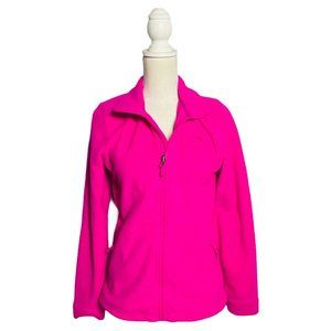 The North Face Women Small Pink Full Zip Soft Shel